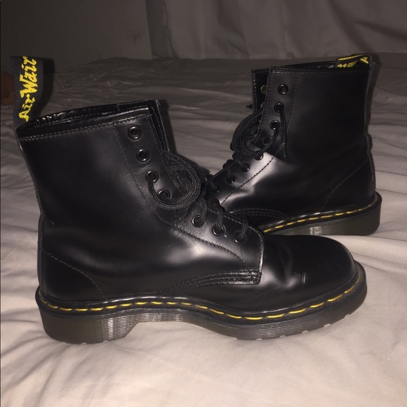79ac0b3bf7f dr marten Shoes | S 1460 Black Smooth Boots | Poshmark